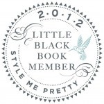 New Member of Style Me Pretty Little Black Book