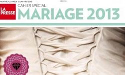 KA Wedding in Cahier Special Mariage 2013- La Presse newspaper