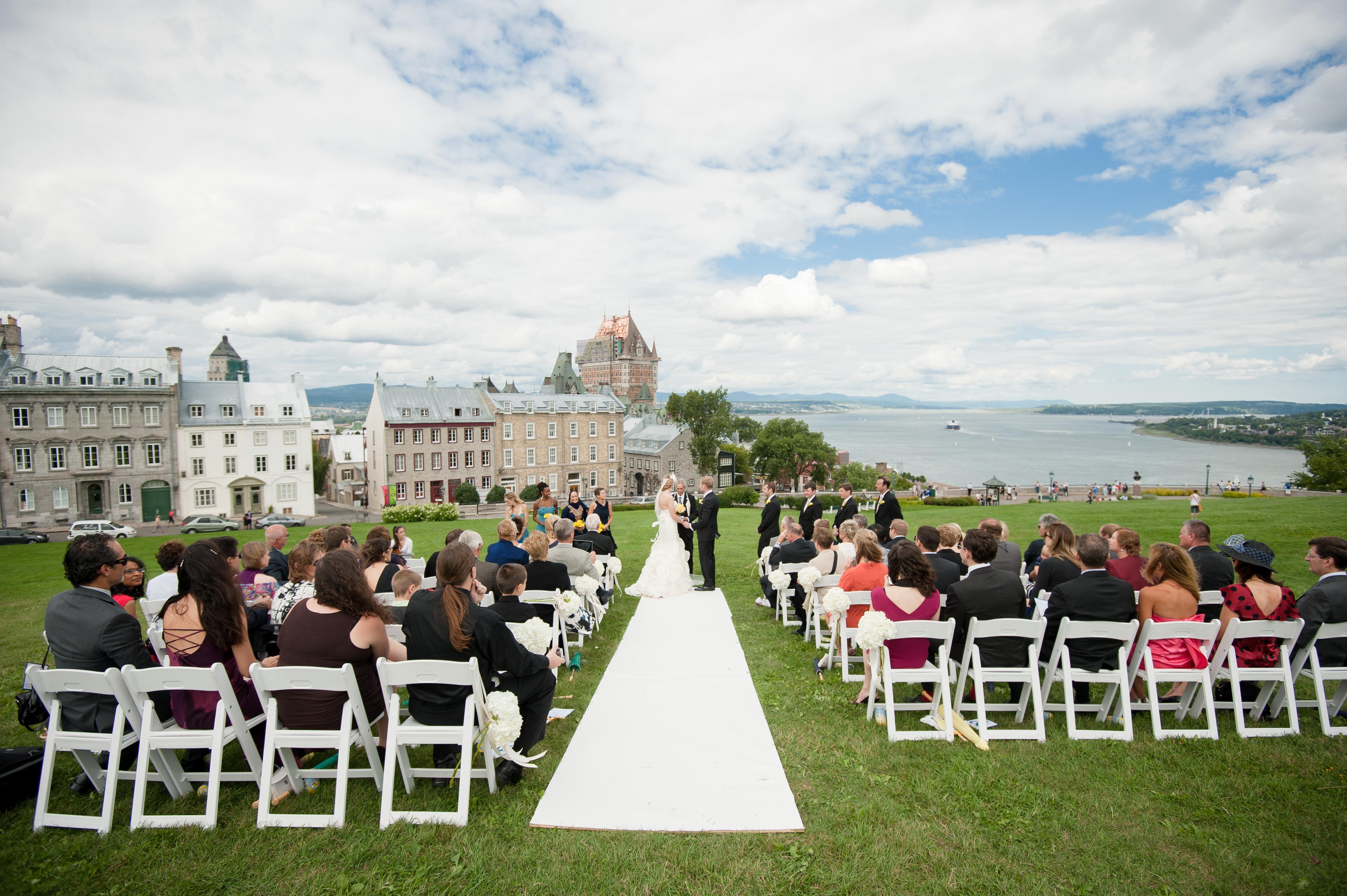Quebec City Outdoor Wedding