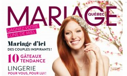 KA Wedding tips in the last issue of Mariage Québec