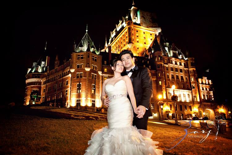 Flutters at the Chateau Frontenac