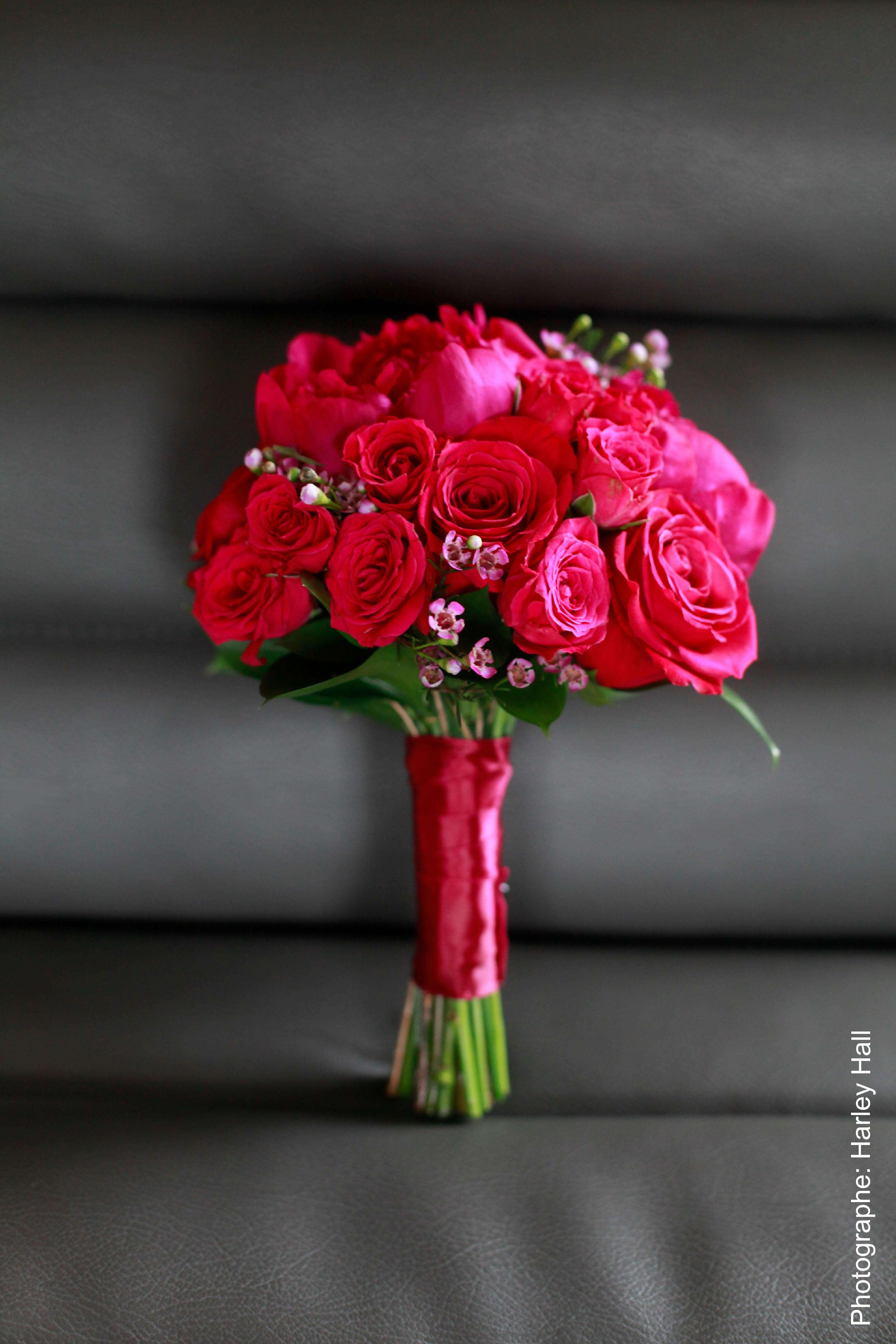 <p>Roses bouquet La Fleur d'Europe</p>